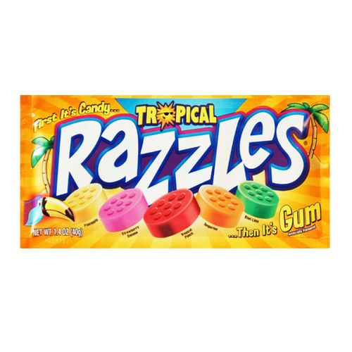 Razzles tropical 40 g