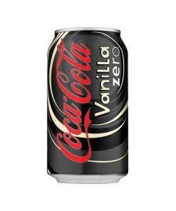 CocaCola Vanilla zero plechovka 355 ml