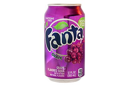 Fanta Grape plechovka 355 ml