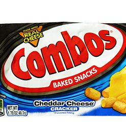 Combos Cheddar cheese Cracker 48.2 g