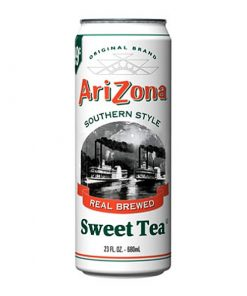 Arizona Sweet tea plechovka 680 ml