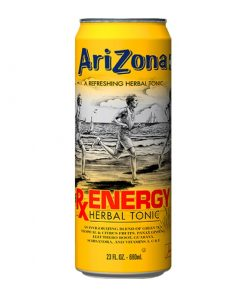 Arizona RxEnergy herbal tonic plechovka 680 ml