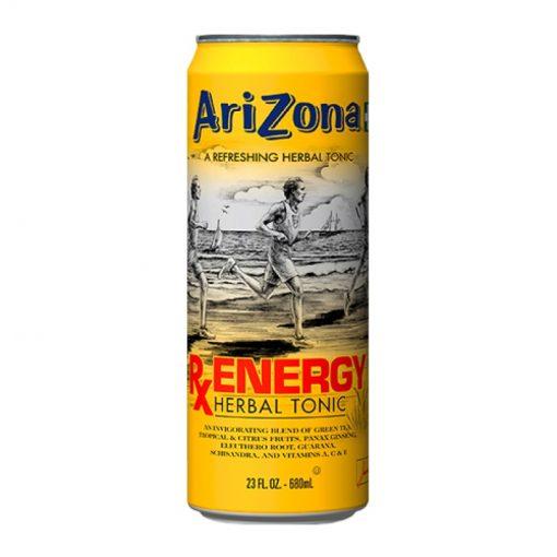 Arizona RxEnergy herbal tonic plechovka 680 ml