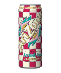 Arizona Ice Tea with Raspberry flavour plechovka 680 ml