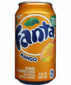 Fanta mango plechovka 355 ml