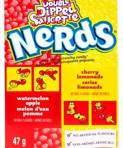 Nerds Wonka Watermelon Apple/Cherry Lemonade 47 g