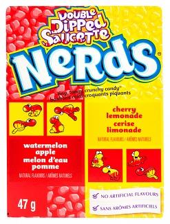Nerds Wonka Watermelon Apple/Cherry Lemonade 47 g