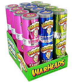 Warheads Super Sour Spray Candy 20 ml