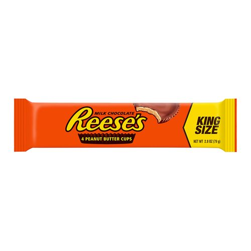 Reeses Milk Chocolate Peanut butter Cups King Size 79 g