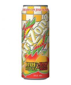 Arizona Half&Half Ice Tea Mango plechovka 680 ml
