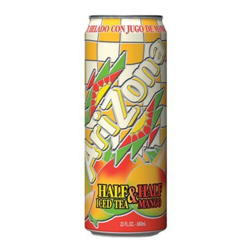 Arizona Half&Half Ice Tea Mango plechovka 680 ml