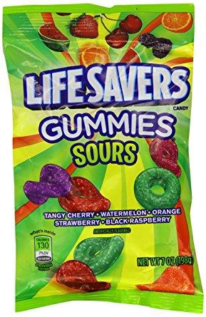 Life Savers Gummies Sours 198 g