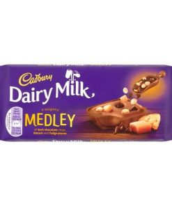 Cadbury Dairy Milk Fudge Medley 93 g