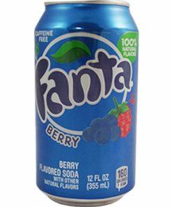 Fanta Berry plechovka 355 ml