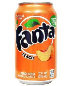 Fanta Peach plechovka 355 ml