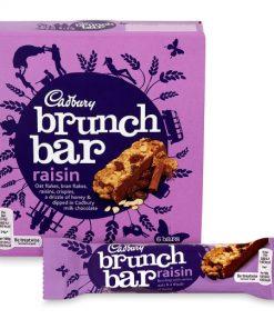 Cadbury Brunch Bar Raisin 6 Pack 192 g