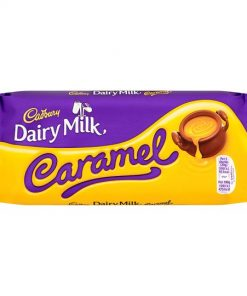 Cadbury Dairy Milk Caramel Chocolate Bar 120 g