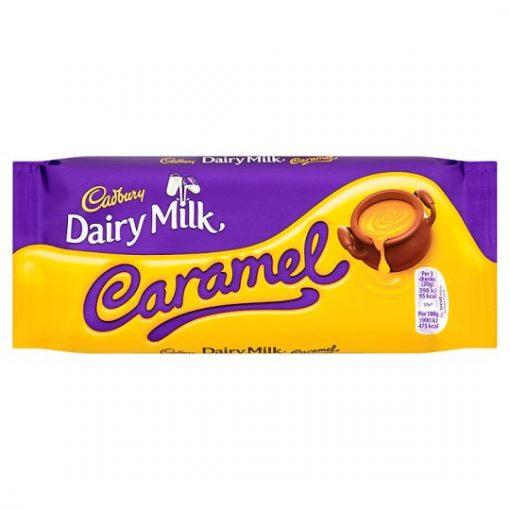 Cadbury Dairy Milk Caramel Chocolate Bar 120 g