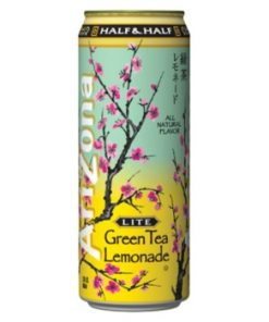 Arizona Green Tea with Lemonade plechovka 680 ml