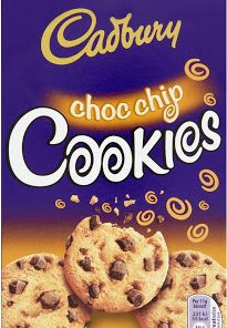 Cadbury choc chip cookie 150 g