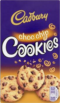 Cadbury choc chip cookie 150 g
