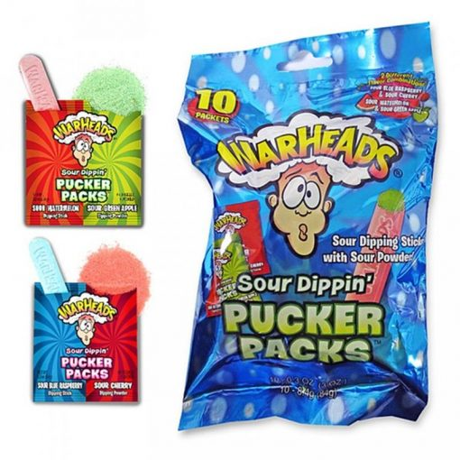 Warheads Sour Dippers Puckers Pack 84 g