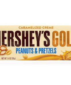 Hersheys Gold Peanuts & Pretzels Bar 39 g