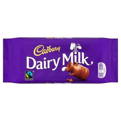 Cadbury Dairy Milk Chocolate Bar 110 g