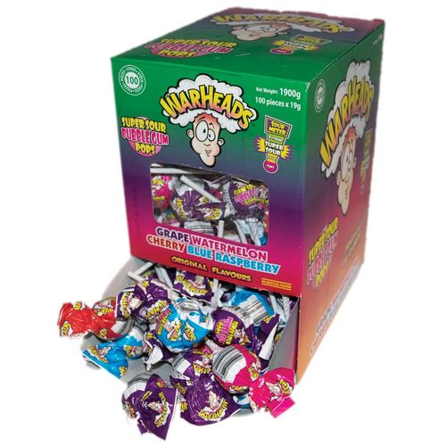 Warheads Tin Super Sour Bubblegum Pop 21 g