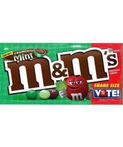 M&M Crunchy Mint Share Size 80 g