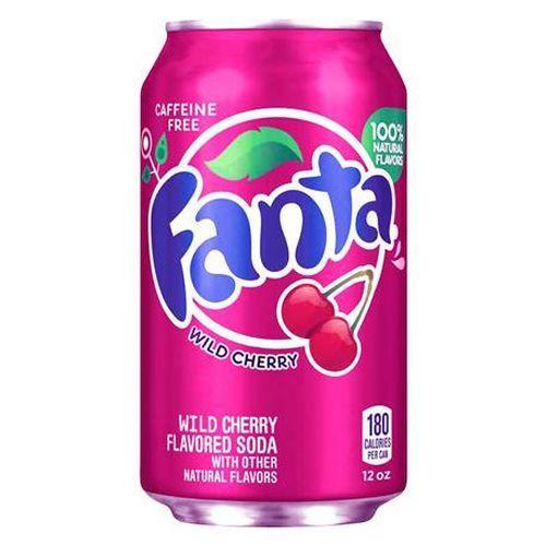 Fanta Wild Cherry plechovka 355 ml