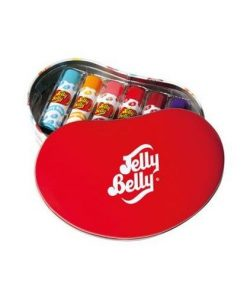 Lip Balm Jelly Belly 6 pc Bean shaped Tin 24 g