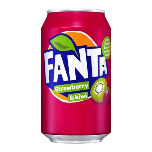 Fanta Strawberry&Kiwi plechovka 330 ml