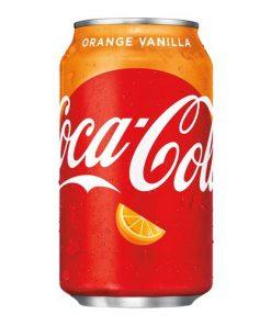Coca Cola Orange Vanilla plechovka 355 ml