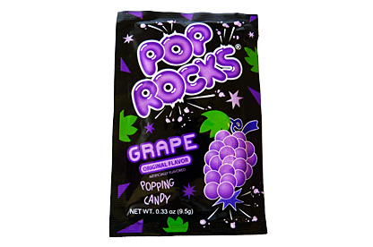 Pop Rocks Grape 9.5 g