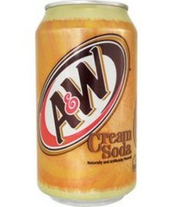 A&W Cream Soda plechovka 355 ml