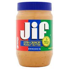 Jif Crunchy peanut butter 454 g
