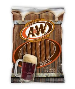 A&W root beer twists 142 g