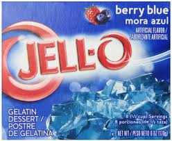 Jell-o Berry blue 85 g