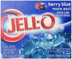 Jell-o Berry blue 85 g