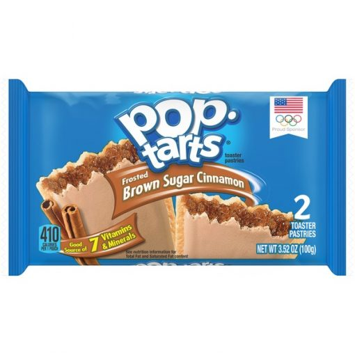 Pop Tarts Frosted Brown Sugar & Cinnamon 100 g