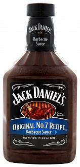Jack Daniels Original No.7 Recipe BBQ Sauce 539 g