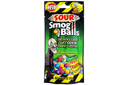 Toxic Waste Sour Smog Balls 85 g
