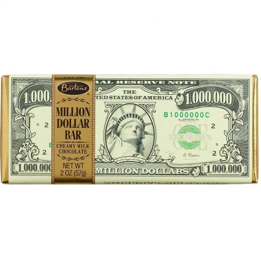 Bartons Million Dollar Chocolate Bar 57 g