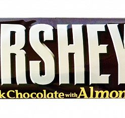 Hersheys Milk Chocolate with Almonds 41 g