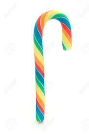 Candy Canes Rainbow 28 g