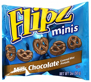 Flipz Milk Chocolate Minis 56 g