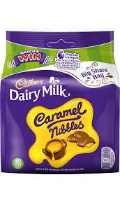 Cadbury Dairy Milk Caramel Nibbles 120 g