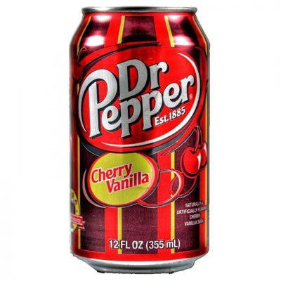 Dr. Pepper Cherry Vanilla plechovka 355 ml
