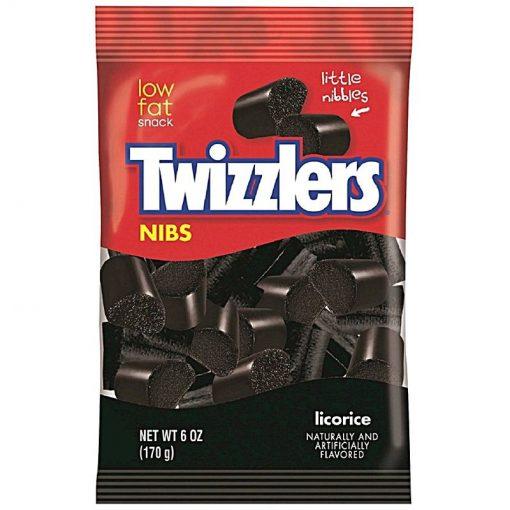 Twizzlers Nibs Licorice Bites 170 g